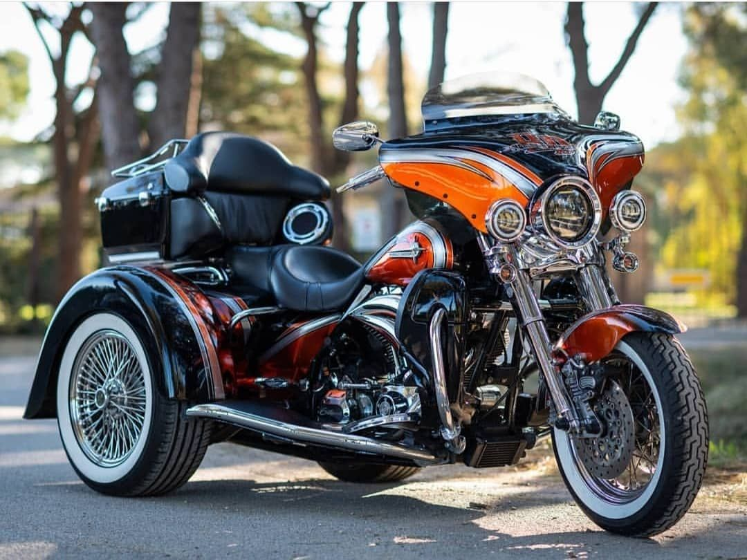 New The 10 Best Home Decor With Pictures Paint Job On Harley Davidson Trike Air Kustom Design Ital Harley Bagger Harley Davidson Trike Harley Davidson