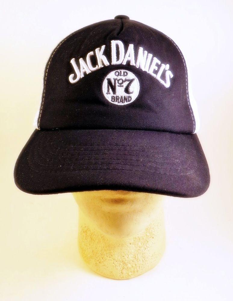 61936625 Vintage Trucker Hat Cap Jack Daniels Tennessee Whiskey Mesh Snapback Foam # JackDaniels #Trucker