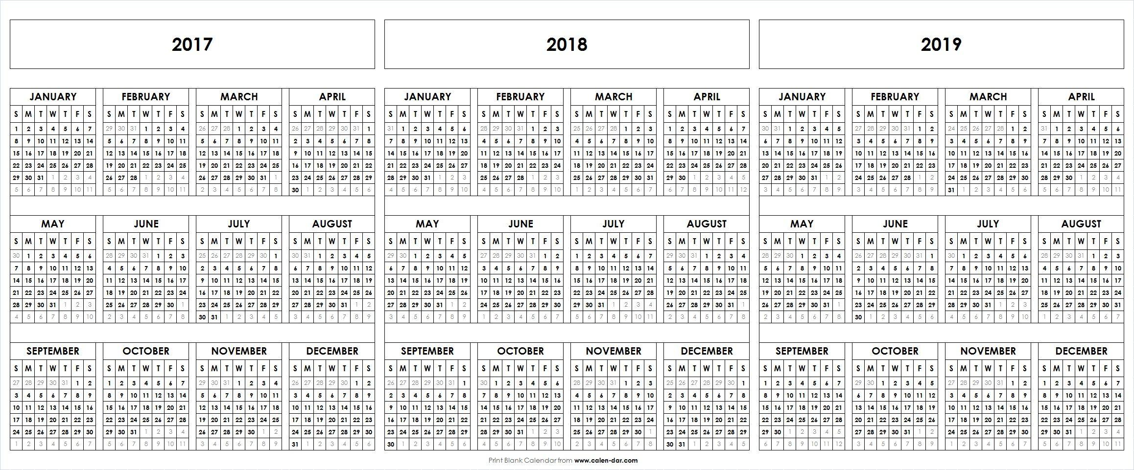 Free Blank Printable    Calendar Template  Blank