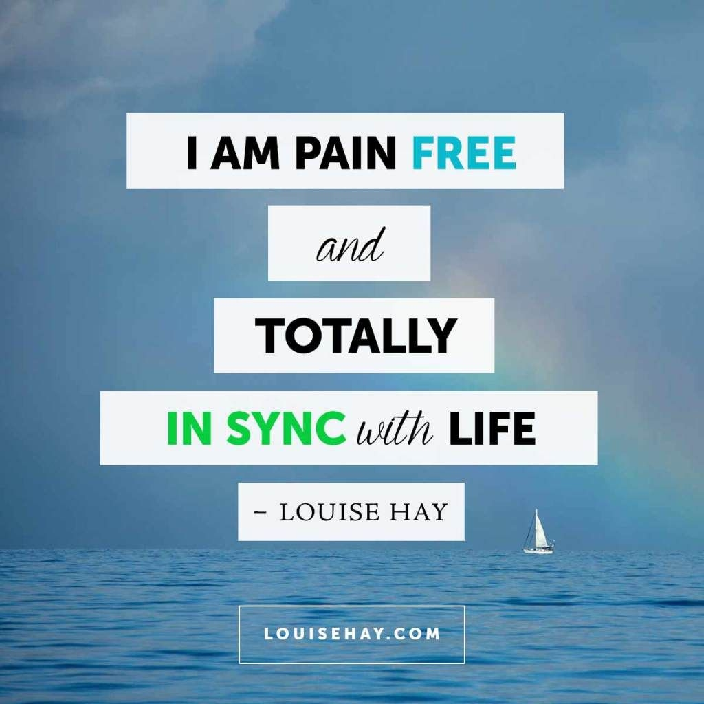 Free Daily Quotes Daily Affirmations Louise Hay Inspirational And Affirmation