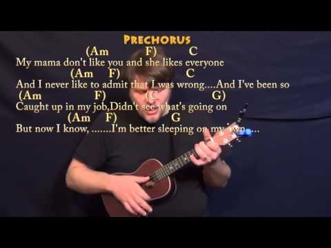 Love Yourself Justin Bieber Ukulele Cover Lesson In C With Chords