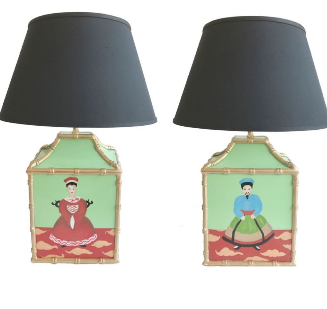 A pair of emperor lamps products i love pinterest emperor a pair of emperor lamps arubaitofo Choice Image
