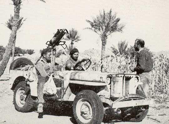 Y Patrol Jeep Long Range Desert Group North Africa Ww2 Wwii