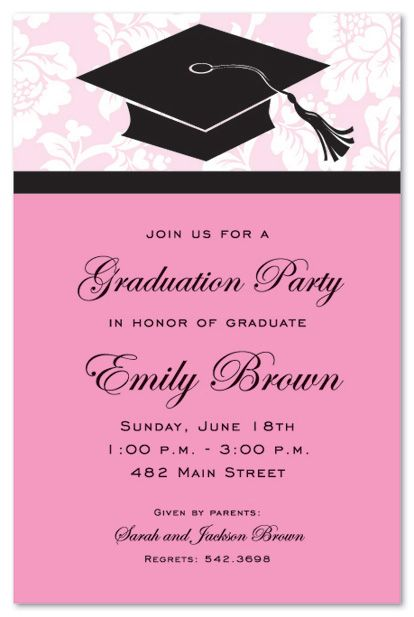 graduation party invitations - Google Search Graduation Party - best of invitation wording ideas for graduation party