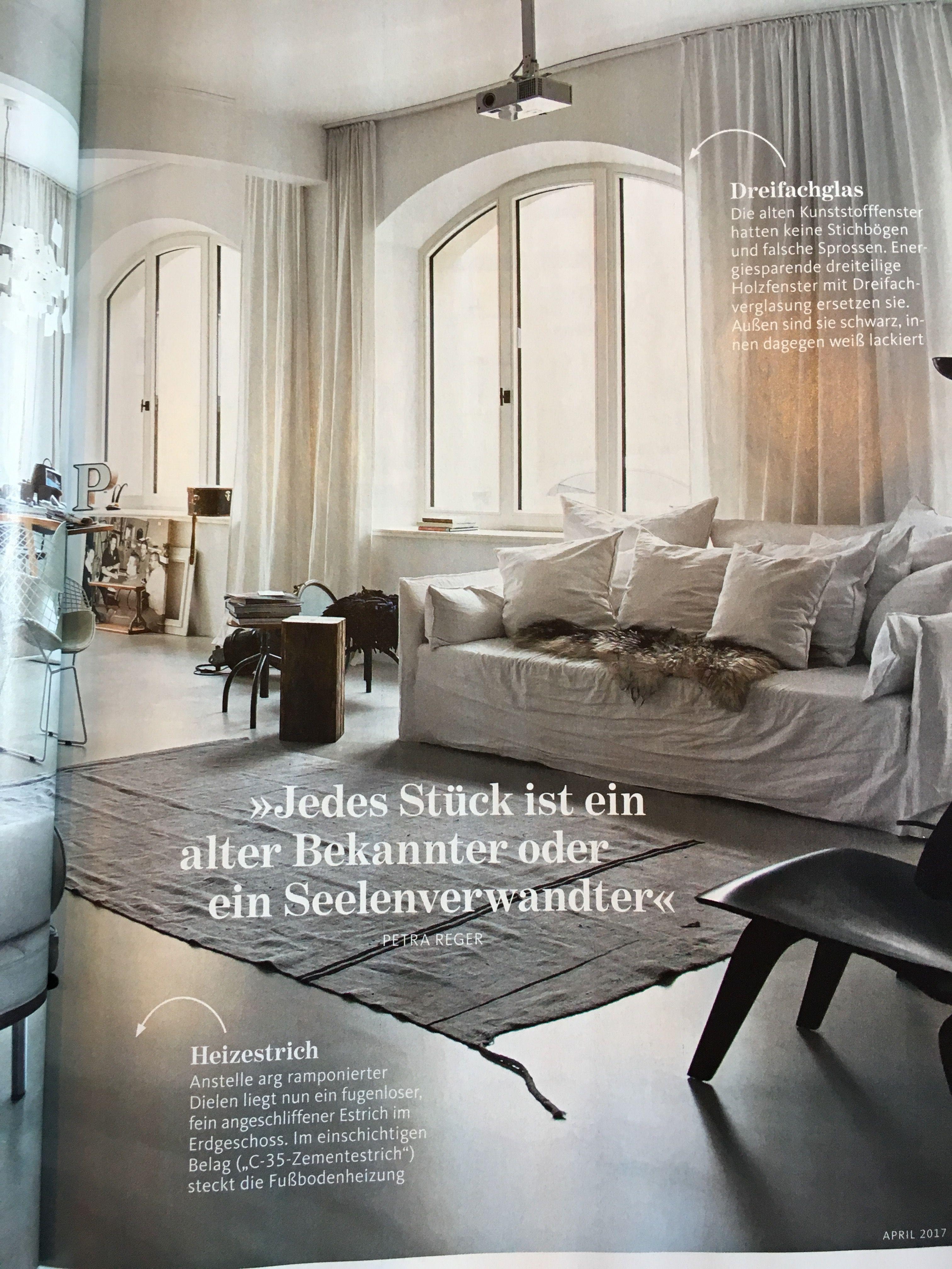 Estrich Heizestrich Boden alte Schreinerei schöner Wohnen ...