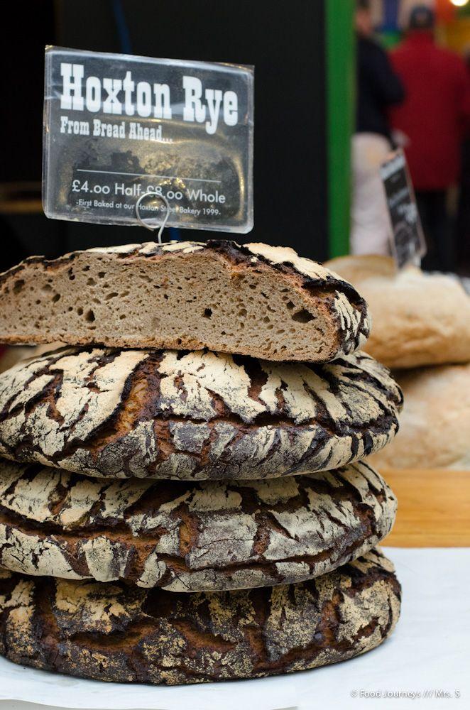 Rye Bread by Bread Ahead Bakery @ Borough Market