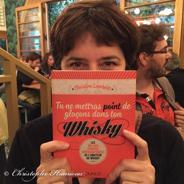 Christine Lambert et son chouette livre à gagner ! #whisky #whiskey #bourbon