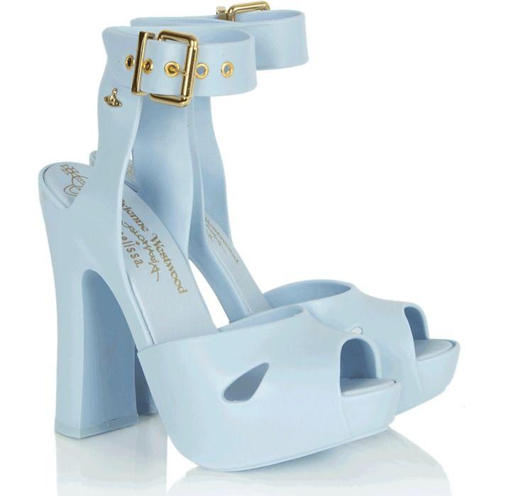 53cda1daa83 Vivienne Westwood Slave Blue Platform Women s Chunky Heel Sandal on  shopstyle.co.uk