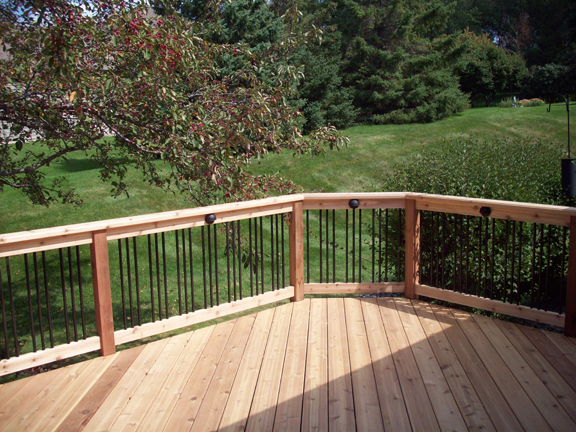 Best Replacing Wood Deck Balusters With Metal Is A Simple Swap 400 x 300