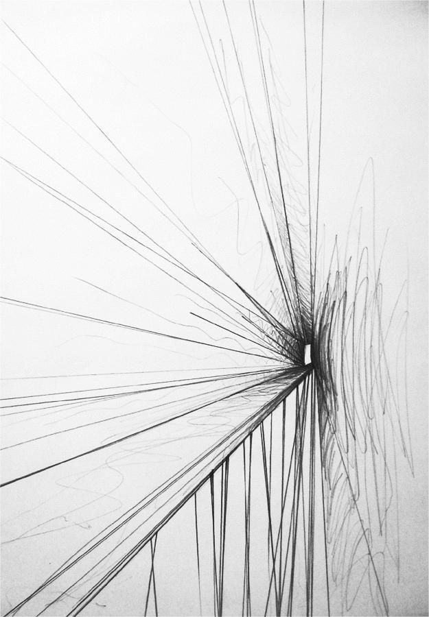 Drawing Lines Sound Effect : Simple lines create tunnel effect quot abstract by tuzzz