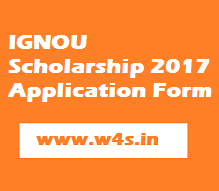Ignou Scholarship   Online Forms ObcScSt Students  Apply