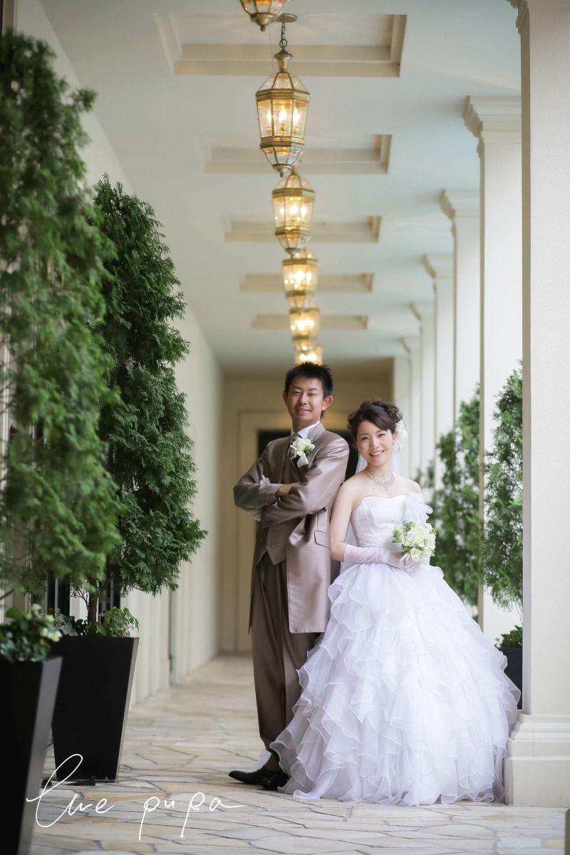 【前撮りレポート】ウエディングドレス × 森 の画像|*elle pupa blog*