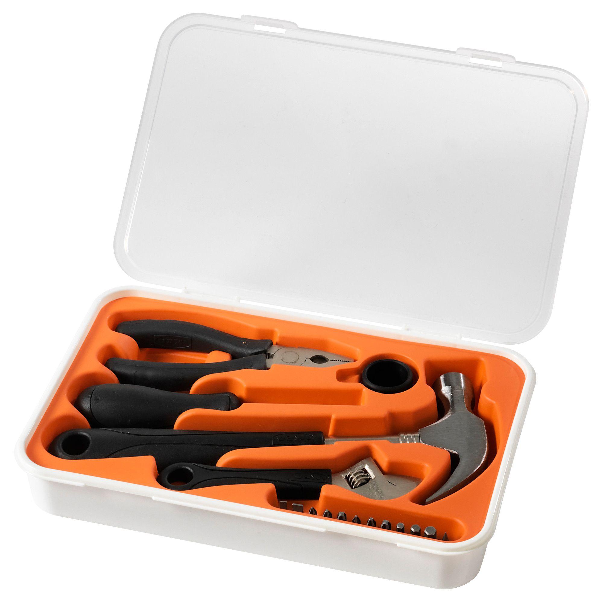 FIXA 17-piece tool kit | Tool kit, Apt ideas and Apartments
