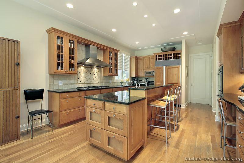 Pictures Of Kitchens Traditional Light Wood Kitchen Cabinets Kitchen 151 Kitchen Design Custom Kitchens Design Wood Floor Kitchen