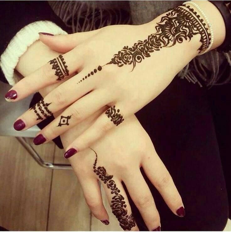 Download Latest Easy And Simple Mehndi Designs Images 2018 2019