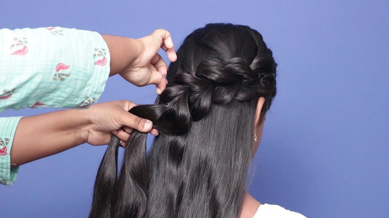 New Party Wear Hairstyles Back To School Hairstyle Hair Styles Girls Easy Party Hairstyles Diy Hairstyles Hair Styles