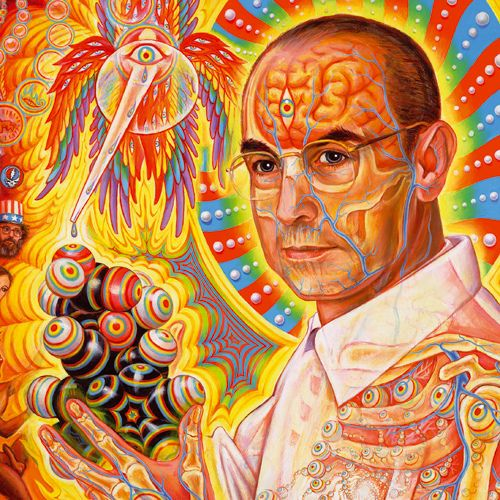 Image result for psychedelic art- of Albert Hoffman
