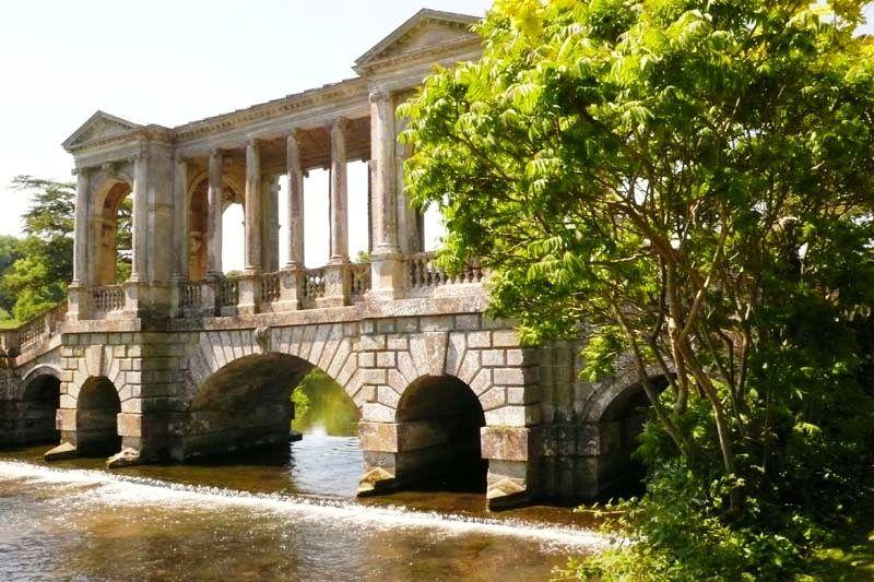 Palladian Bridge Wilton House, Wilton Near Salisbury In Wiltshire, UK