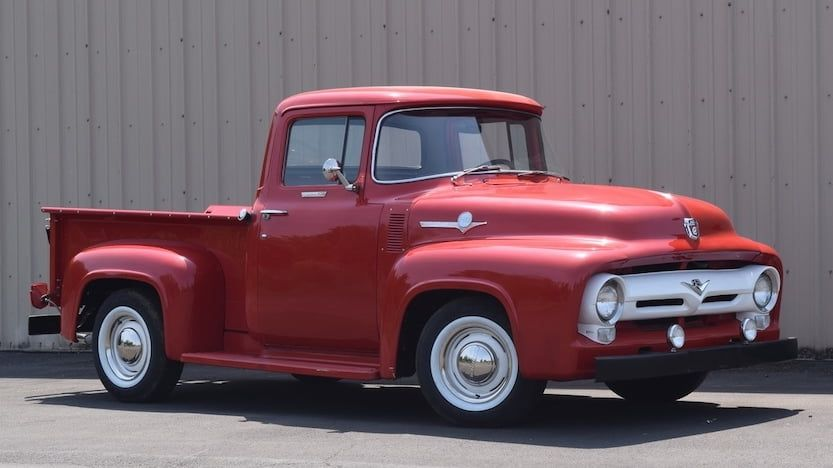 1956 Ford F100 Pickup F99 Portland 2018 With Images 1956
