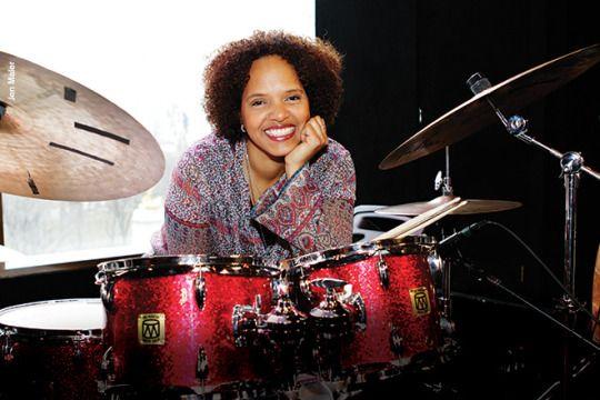 Terri Lyne Carrington, great jazz drummer