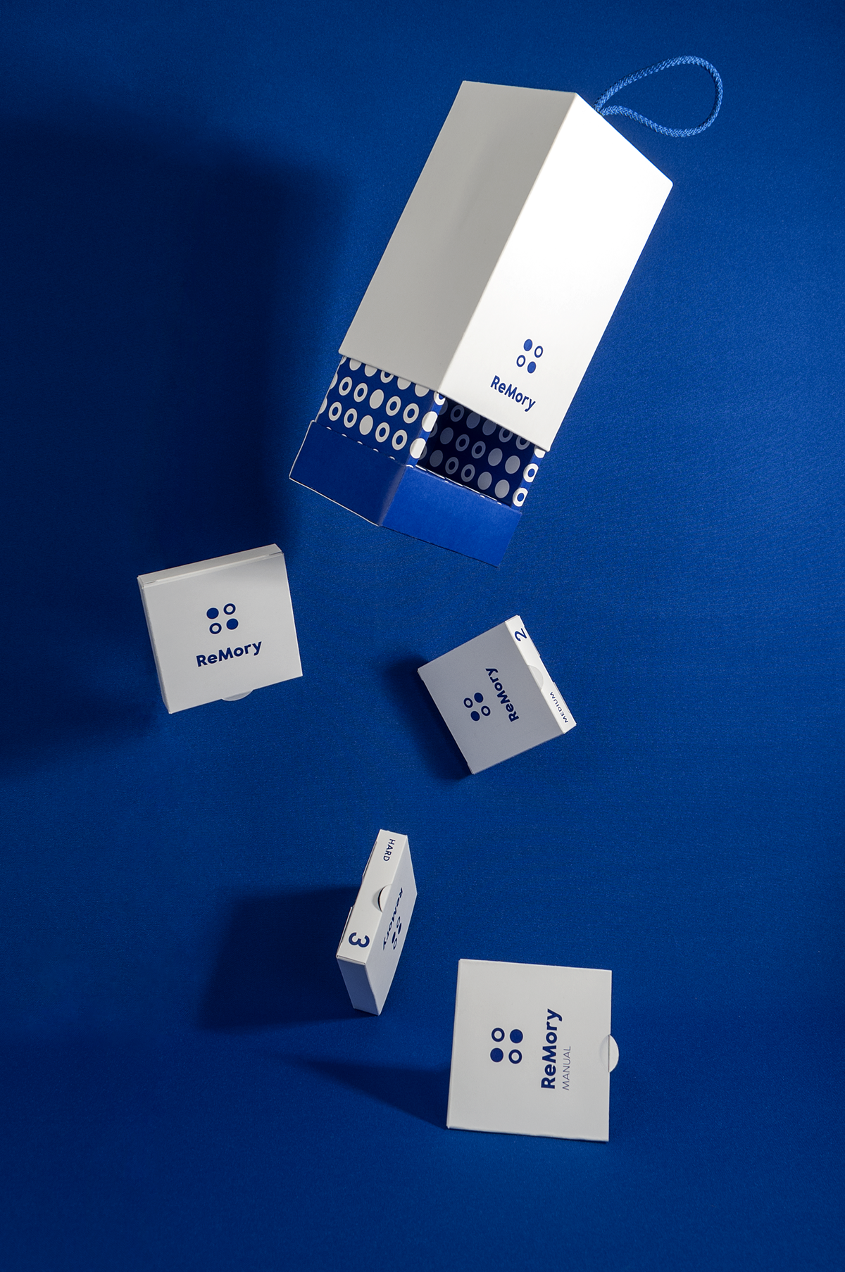 ReMory // card game // packaging // on Behance Card