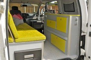 nissan nv200 camper nomades. Black Bedroom Furniture Sets. Home Design Ideas