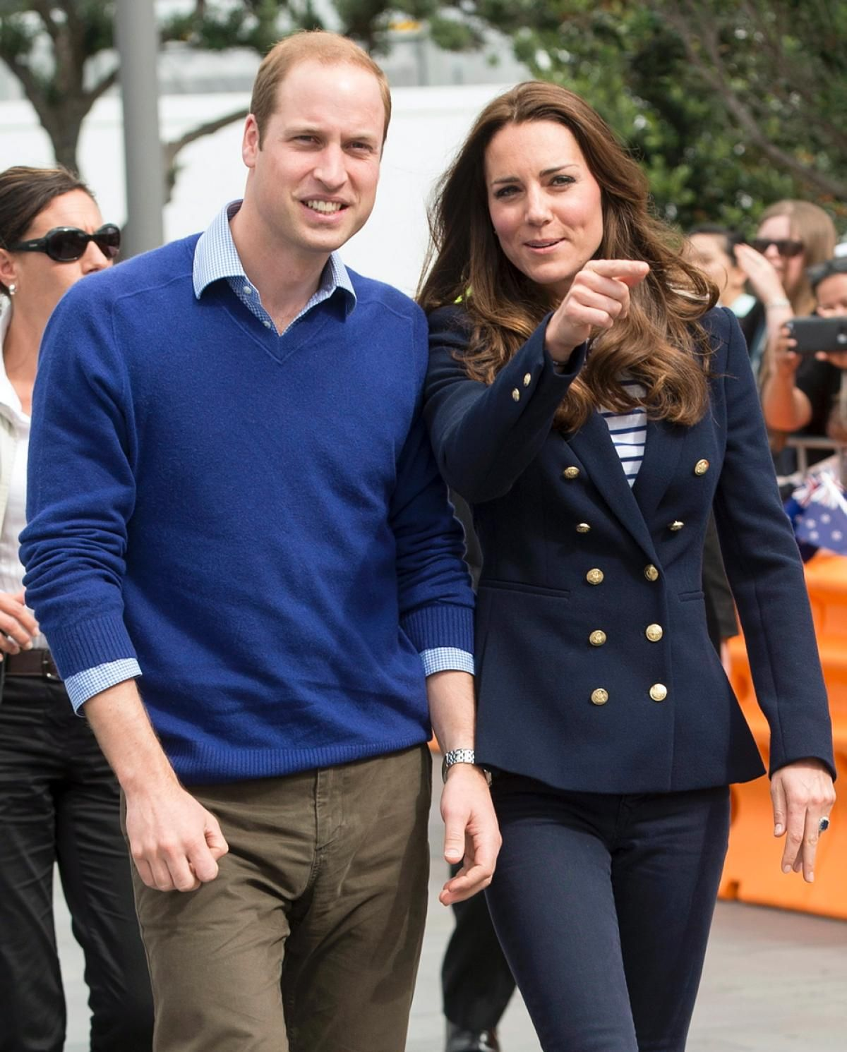 Kate Middleton And Prince William In New Zealand