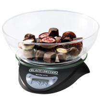 Balanca De Cozinha 3kg Com Visor Digital Bc250 Br Black Decker