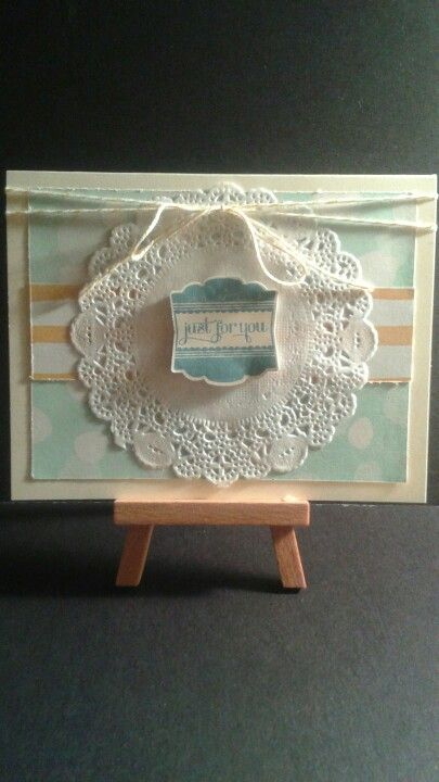 Just for You...Happy Birthday Card www.etsy.com/shop/jengirlsdesigns #etsy #jengirlsdesigns #handmade #card #handmadecard #birthday #birthdaycard #etsyshop #etsystore #etsyseller #etsysellers #etsyusa #etsyfinds #greetingcards #birthdaywishes #happybirthday #papercrafts #cardmaking #makeawish #papercrafting #stampinup