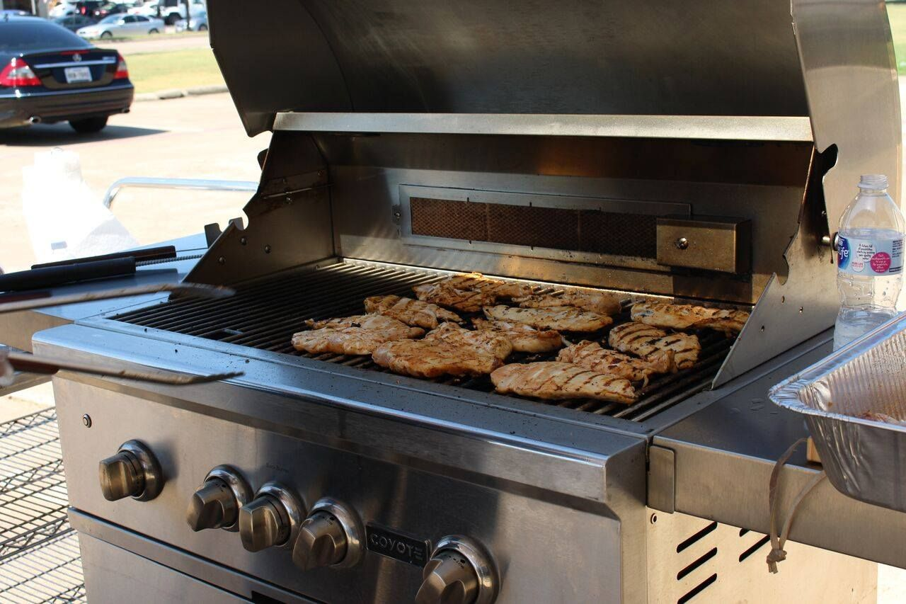 Perfectly Grilled Tender Chicken On The Coyote Grill Cooking Equipment Cooking Grilling