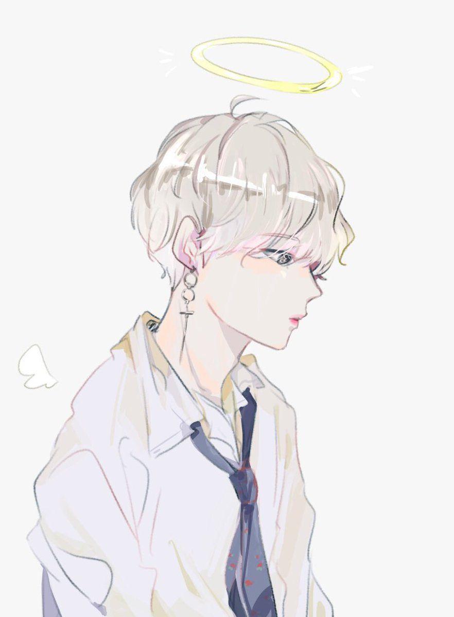My Tae Kooktae Con Imagenes Bts Chibi Bts Dibujo Dibujos