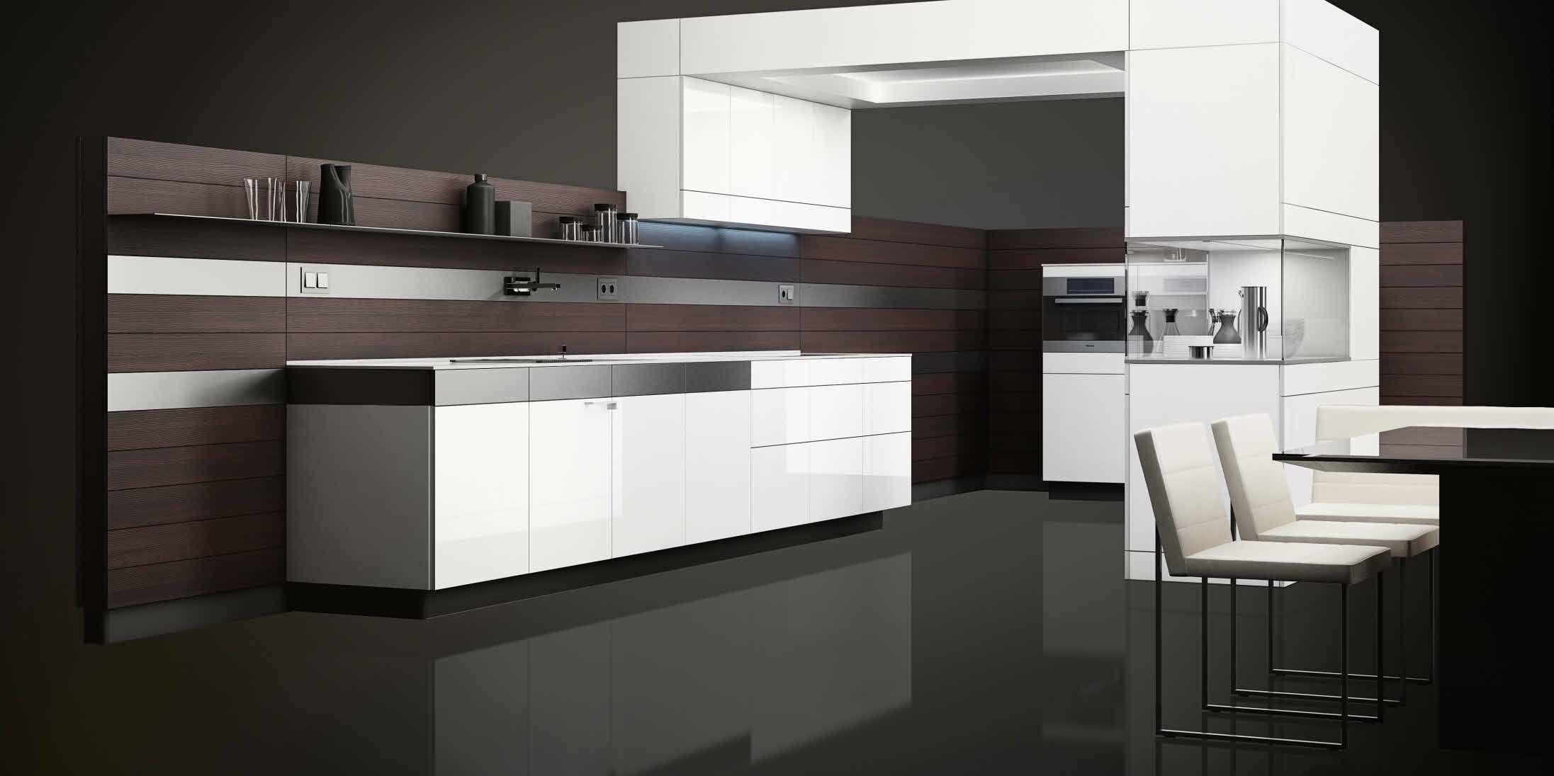 +ARTESIO polar white and brushed pine | Pitmaston kitchen ...