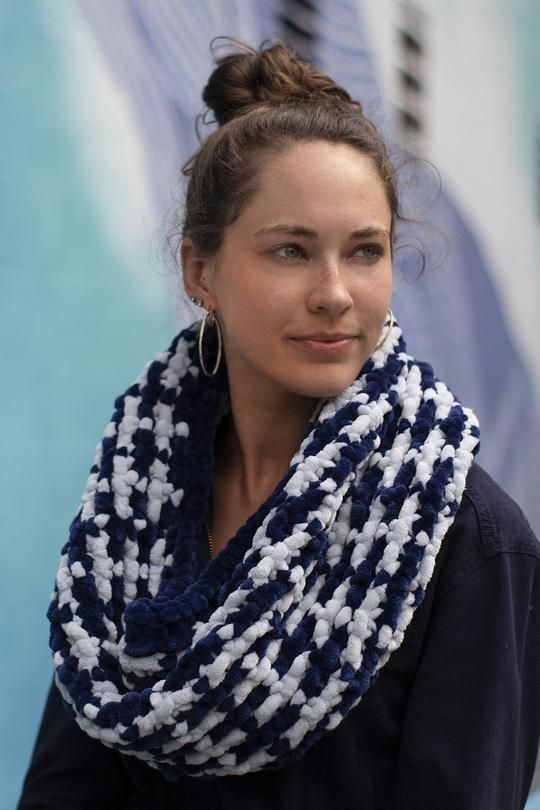 Mosaic Cowl | Cowl, Knit in the round, Universal yarn