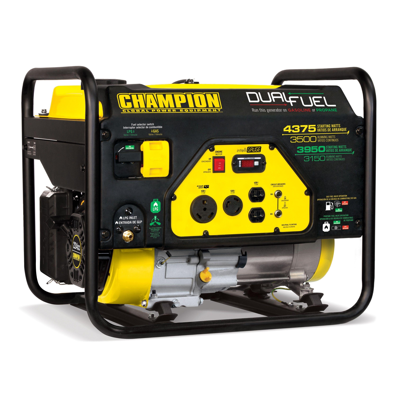 Champion Power Equipment 3500 Watt Dual Fuel RV Ready