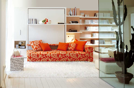 The Atoll 000 sofa wall bed unit. in 2020 Modern murphy