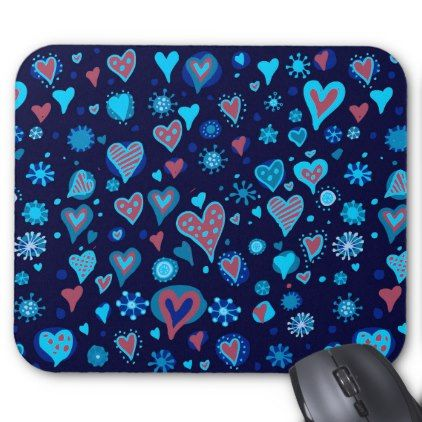 i truly heart you mouse pad drawing sketch design graphic draw personalize