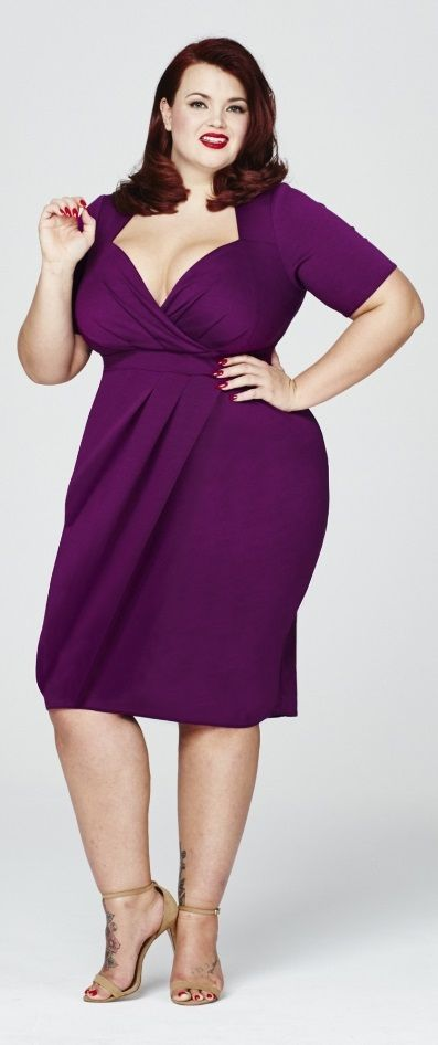 0ecb482ef70 Plus Size Wrap Dress