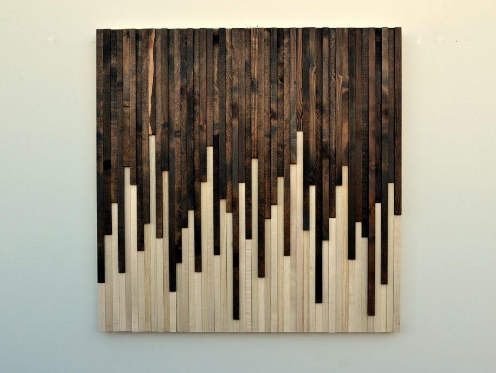 Wall art ideas design rustic sculpture wall art on wood modern