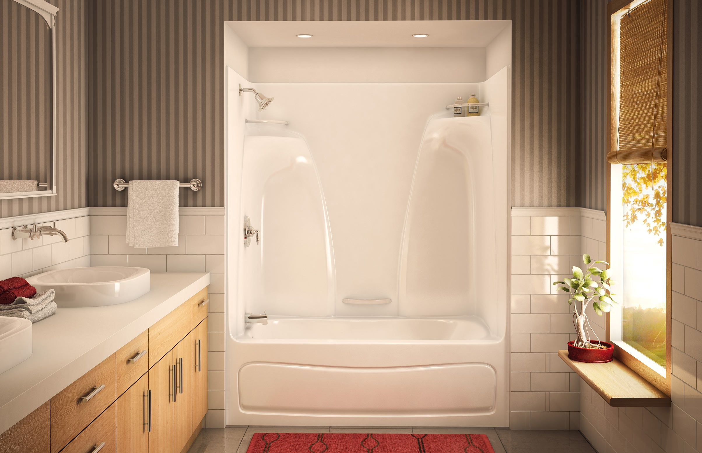 ACTS-3360 Alcove or Tub showers bathtub - Aker by MAAX | cottage ...
