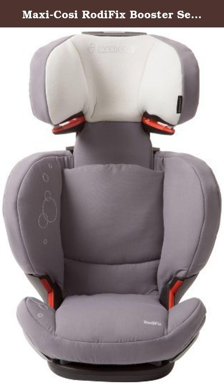 maxicosi rodifix booster seat steel grey with a reclining  - maxicosi rodifix booster seat steel grey with a reclining design to match