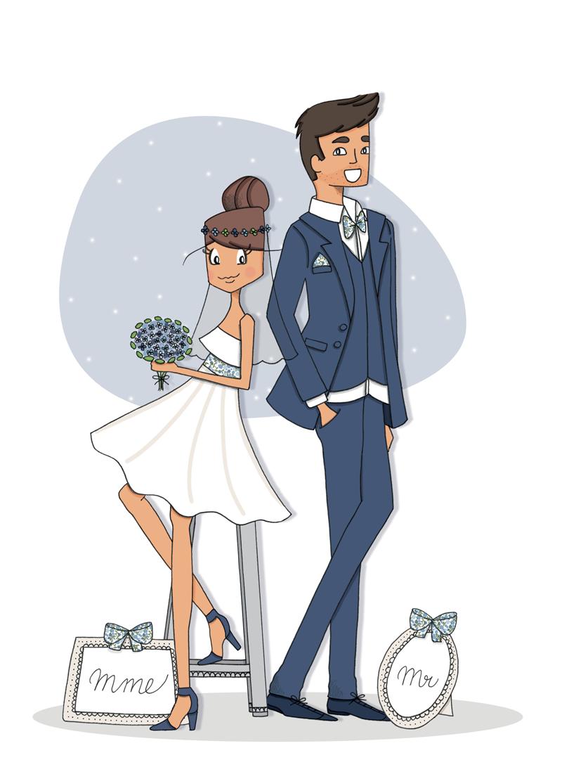 Открытка жених и невеста прикольная, дню рождения женщине