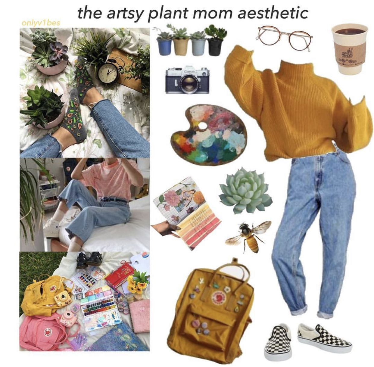 The Artsy Plant Mom Aesthetic Aesthetic Clothes Cool Outfits Cool Style