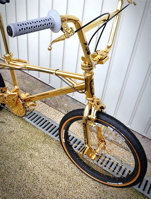 Queenofsabah Bmx Bikes Bmx Bicycle Golden Bike