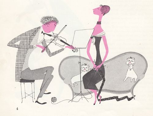 50 s and 60 s illustrations