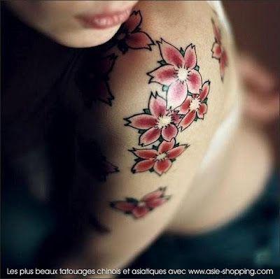 28+ Tatouage fleur de sakura ideas