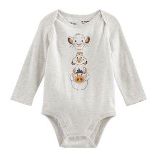 02de6671d7c8 Disney's The Lion King Baby Boy Simba, Timon & Pumba Bodysuit by Jumping  Beans®