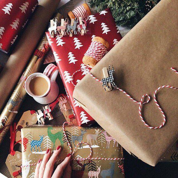 christmas winter and gift image