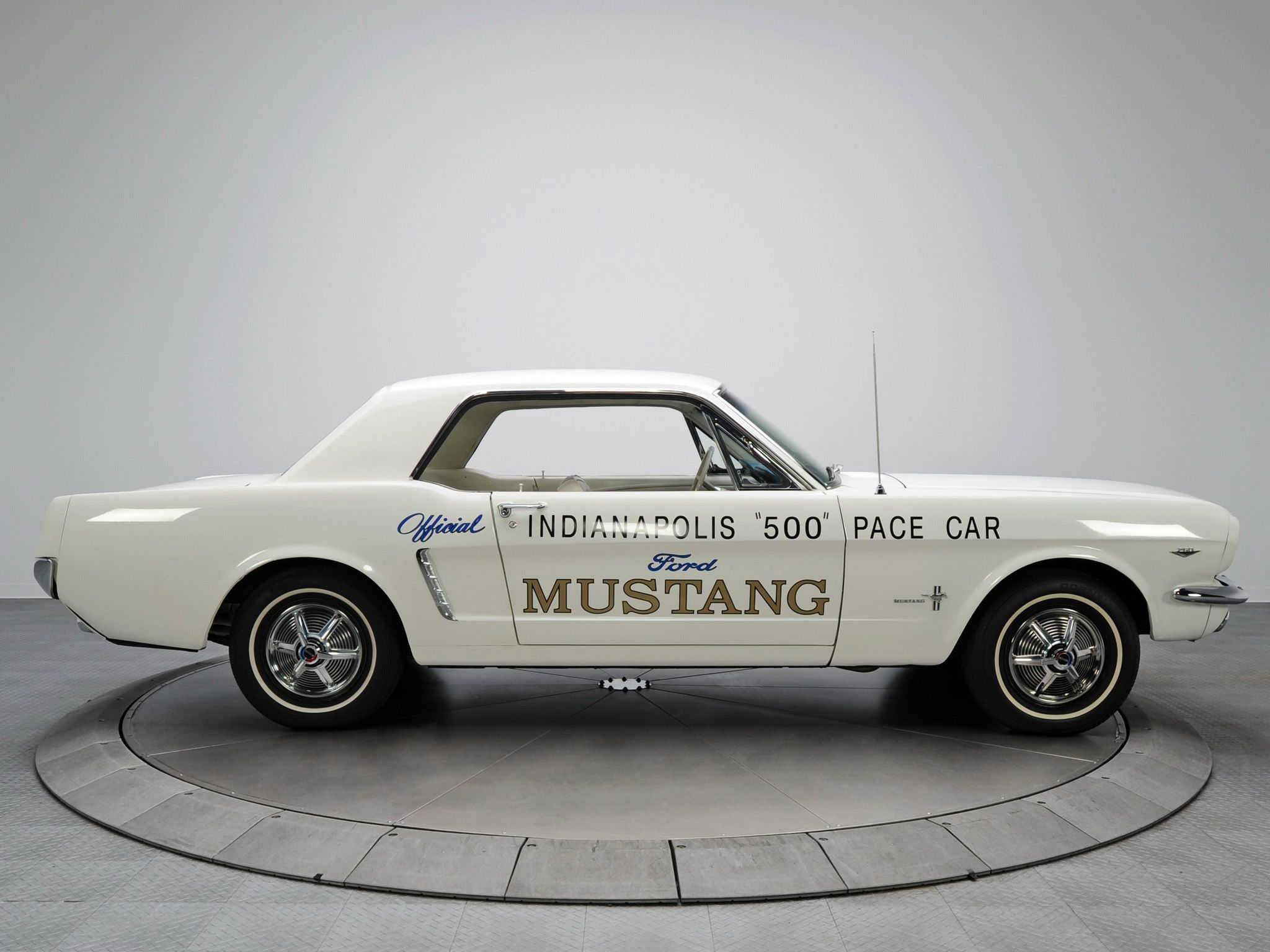Ford Mustang Coupe Indy 500 Pace Car 1964 classics