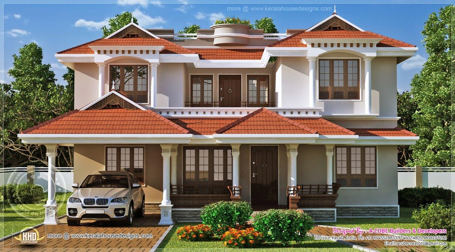 Kerala Style Home Exterior Design Valoblogi Com