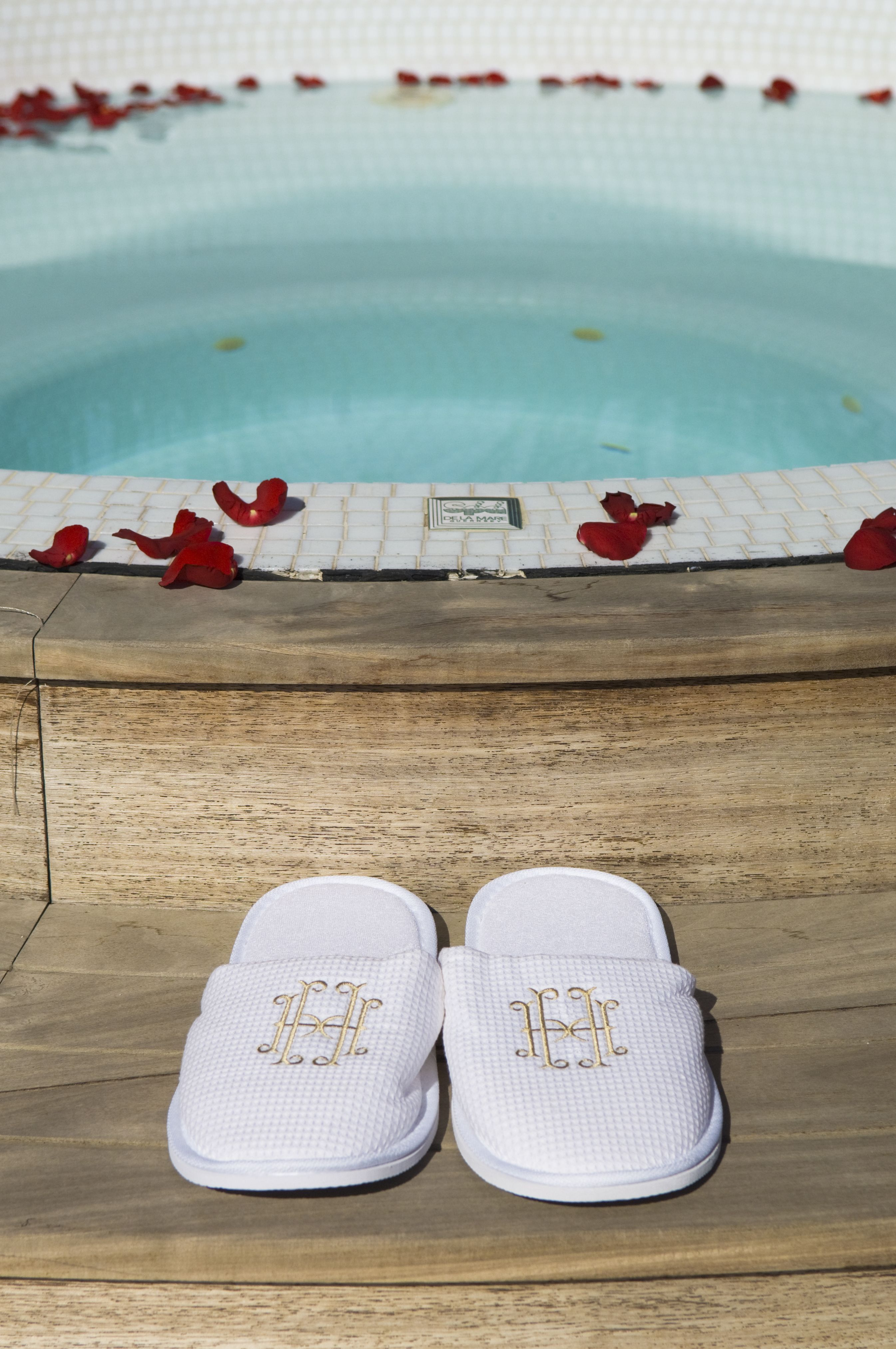 Jacuzzi time at the H´tel Hermitage Monte Carlo